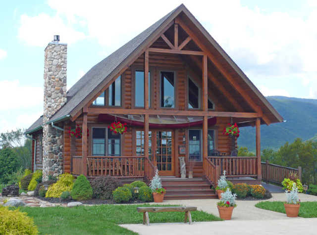 country gable log cabin (4)