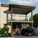 บ้านโมเดิร์นของชั้น ขนาดกลาง ออกแบบเรียบง่าย รับรสนิยมของคนสมัยใหม่
