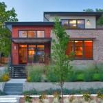 บ้านโมเดิร์นรูปทรงทันสมัย สวยงามทั้งรูปทรง โทนสี วัสดุ สะท้อนรสนิยมแบบภูมิฐาน