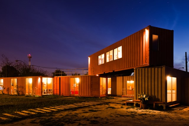 shipping container home office (6)