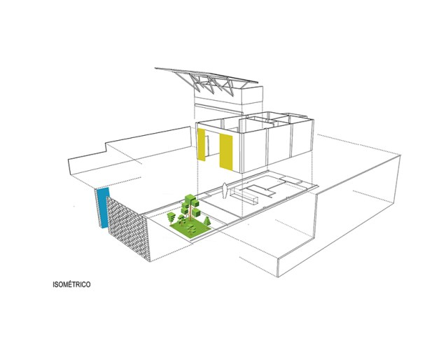 small Modern house material from brick (5)