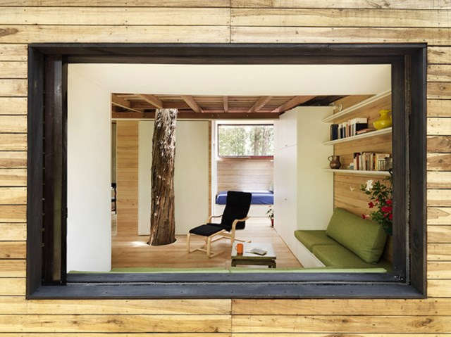 studio Small home Decorated with modern shapes (16)
