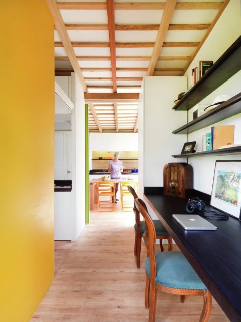 studio Small home Decorated with modern shapes (3)