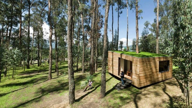 studio Small home Decorated with modern shapes (5)