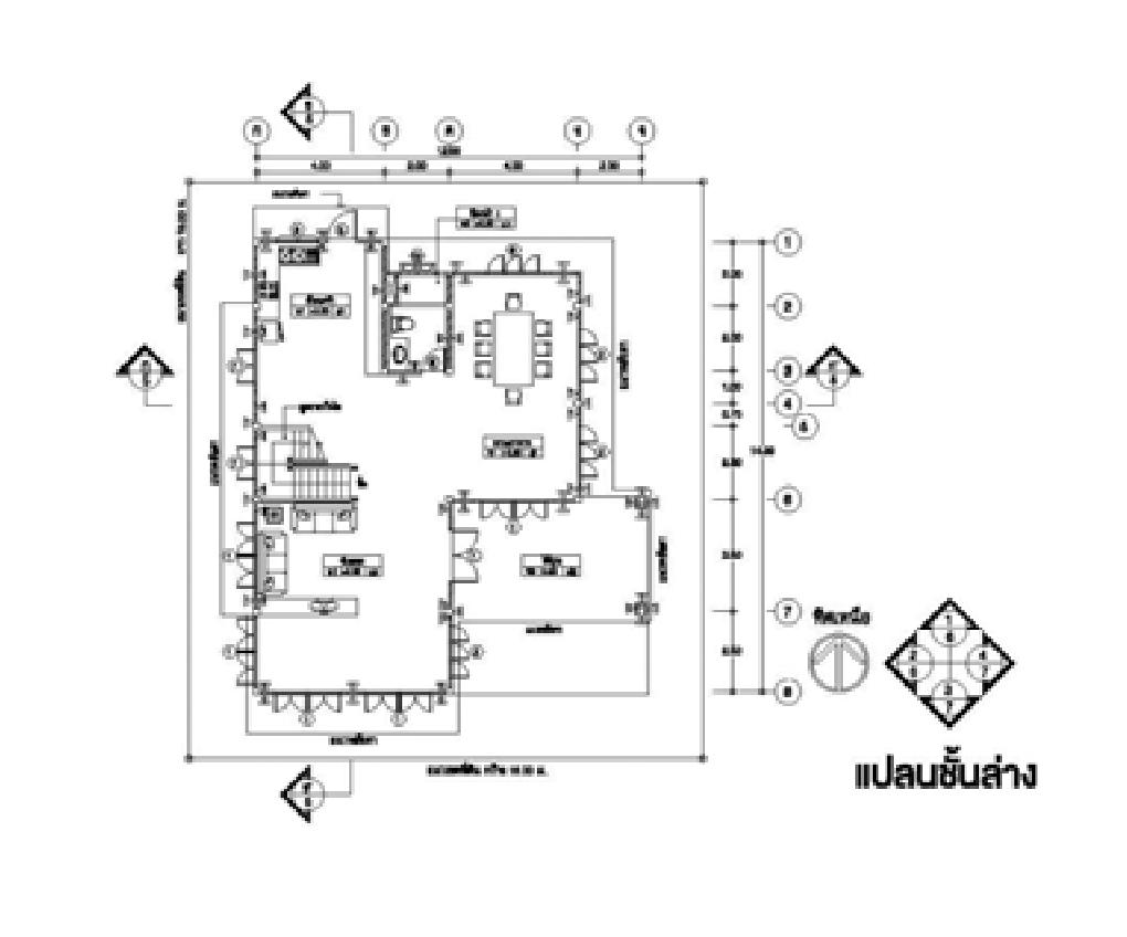 thai contemporary half concrete half wooden  2 bedroom house (1)