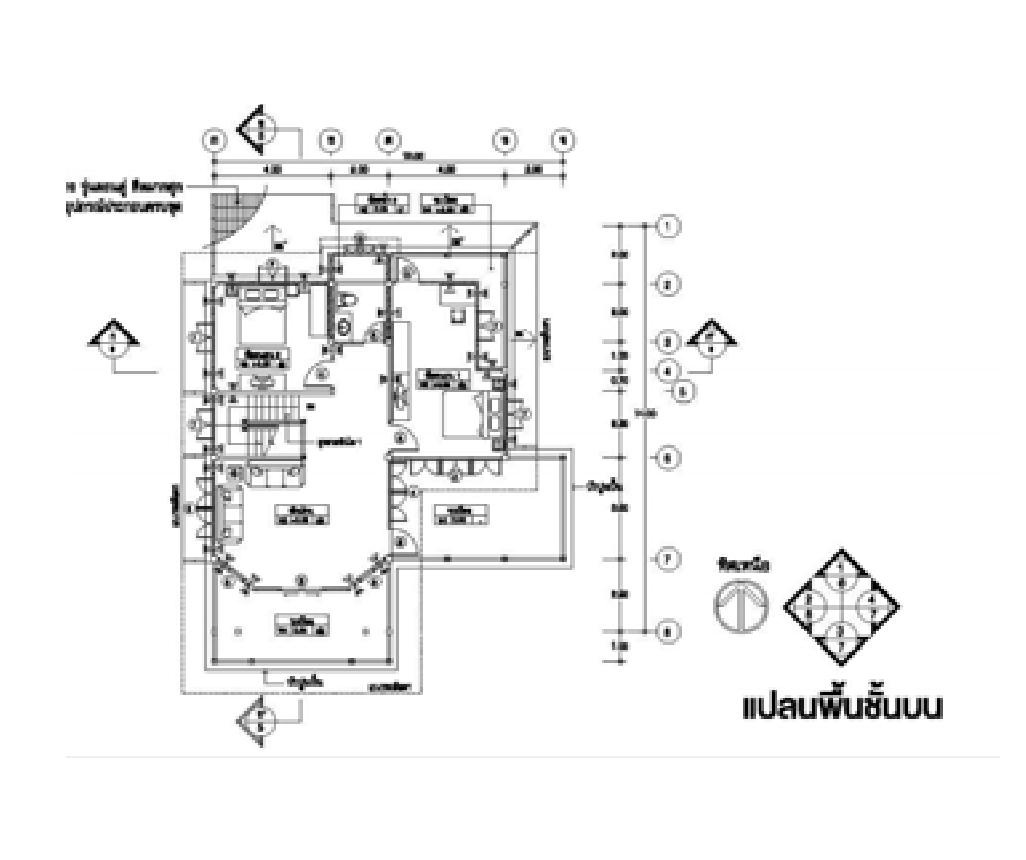 thai contemporary half concrete half wooden  2 bedroom house (2)