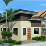บ้านขนาดเล็กแบบสตูดิโอ หลังคาเพิงฯ อยู่ในงบ 4 แสนบาท