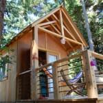 บ้านสวนอารมณ์รัสติด ออกแบบด้วยไม้ พร้อมเฉลียงหน้าบ้าน