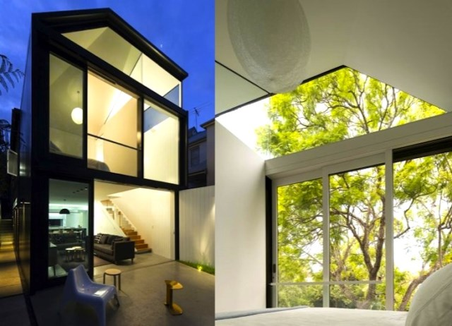 two-story Modern house Big Ideas on limited area (9)