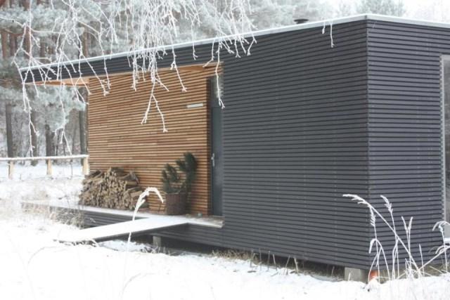 villa Modern house of modern materials (1)