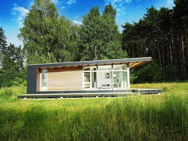 villa Modern house of modern materials (11)