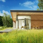 บ้านตากอากาศ สไตล์โมเดิร์นวัสดุสมัยใหม่ เหมาะกับการประยุกต์เป็นออฟฟิศ
