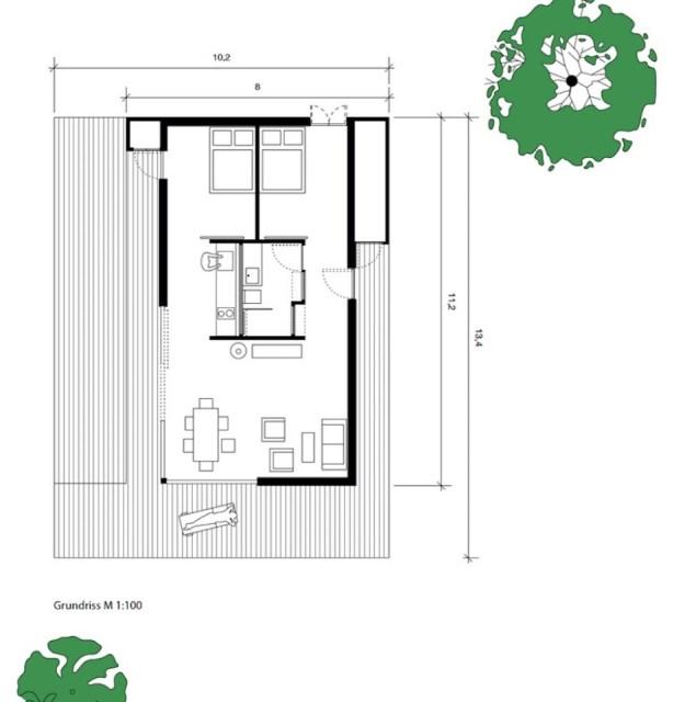 villa Modern house of modern materials (2)