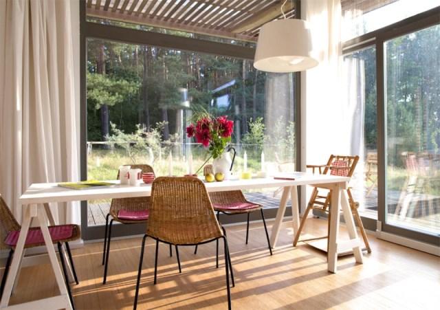 villa Modern house of modern materials (4)