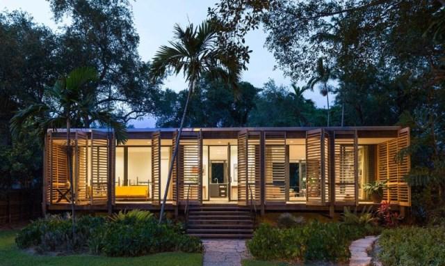 villa Modern style with wooden windows (13)