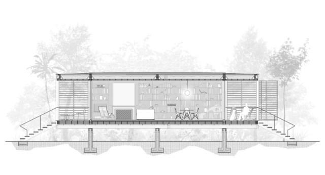 villa Modern style with wooden windows (9)