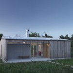 บ้านตากอากาศสไตล์โมเดิร์น จากไม้และกระจก ดีไซน์ให้น่าอยู่แบบเรียบง่าย