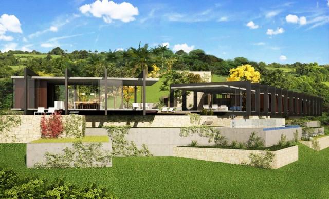 villa house Modern style (3)