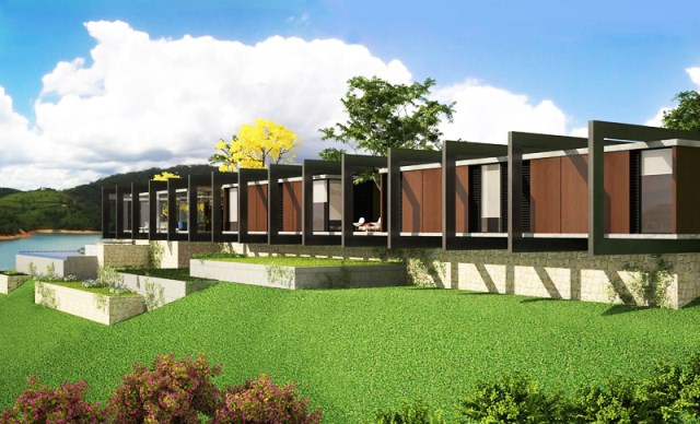 villa house Modern style (5)