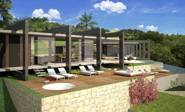 villa house Modern style (8)