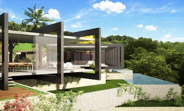 villa house Modern style (9)