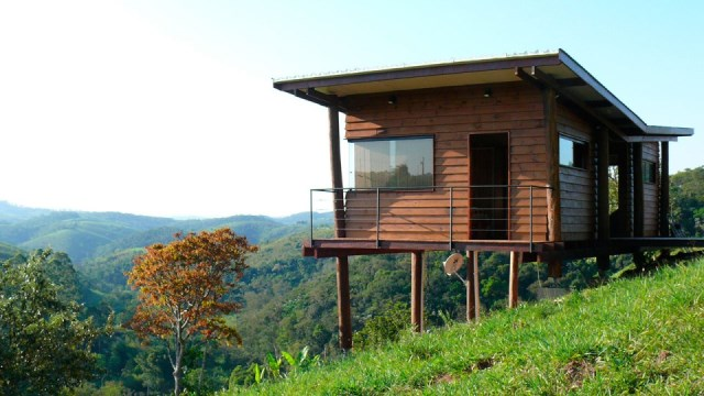 wooden Vacation home on the Hill (5)