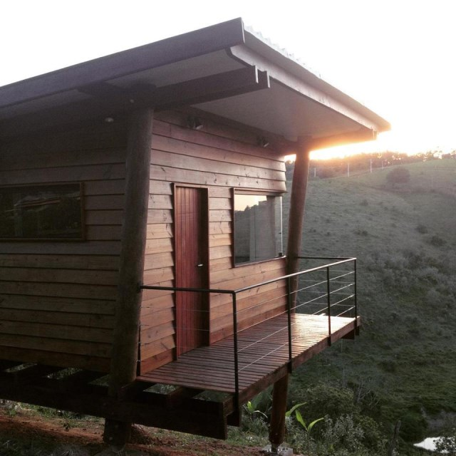 wooden Vacation home on the Hill (9)