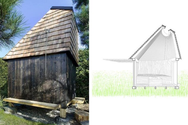 wooden tiny Small house (7)
