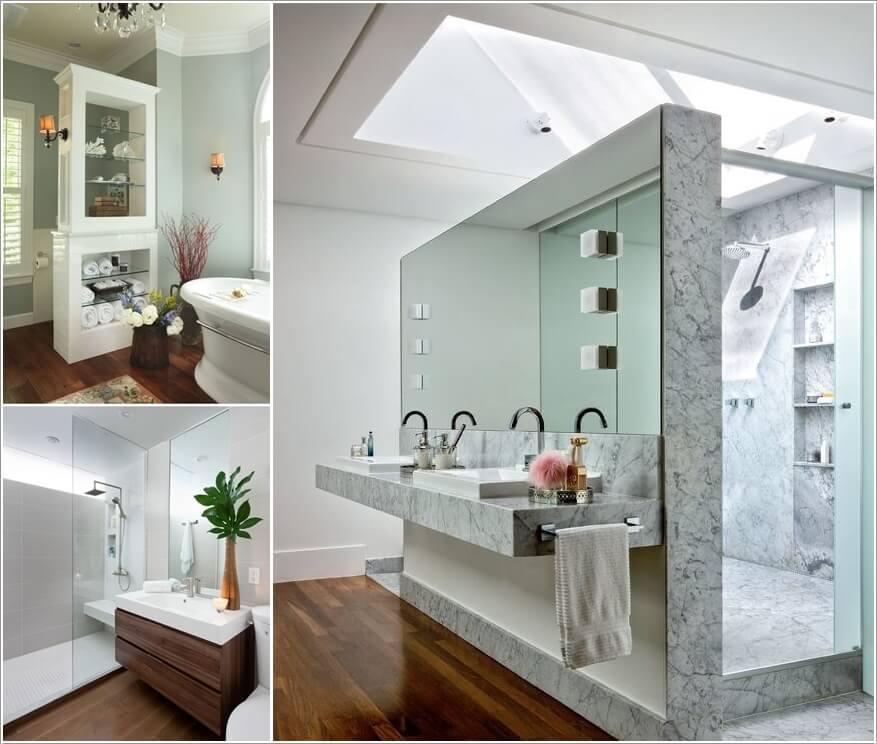 10 AMAZING BATHROOM PARTITION OPTIONS  (1)