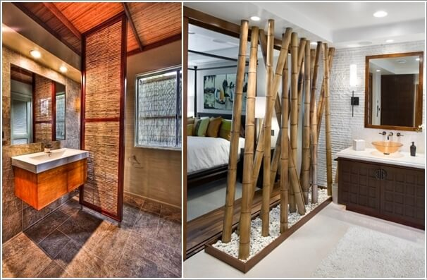 10 AMAZING BATHROOM PARTITION OPTIONS  (10)