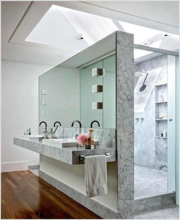 10 AMAZING BATHROOM PARTITION OPTIONS  (2)