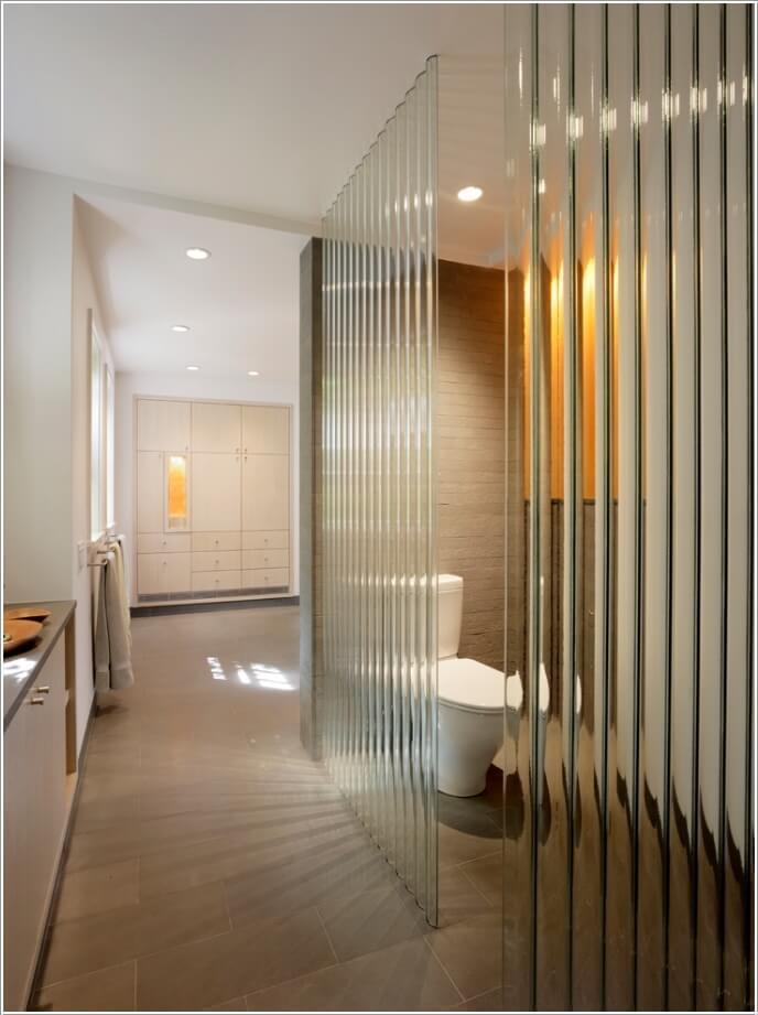 10 AMAZING BATHROOM PARTITION OPTIONS  (4)
