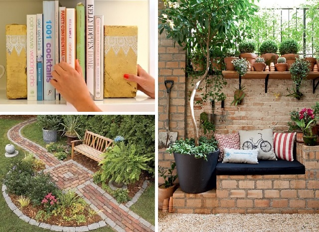 10 CREATIVE BRICK PROJECTS cover