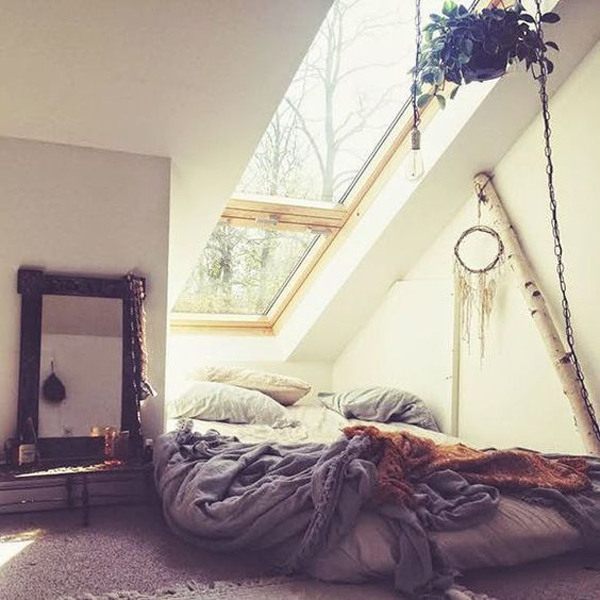 10-beautiful-loft-bedrooms-with-natural-accents (10)