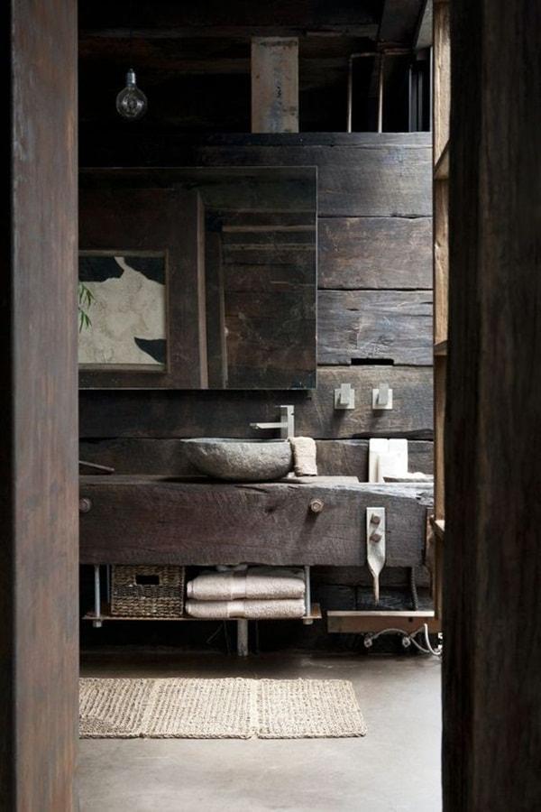 11 stone decoration ideas for bathroom (6)