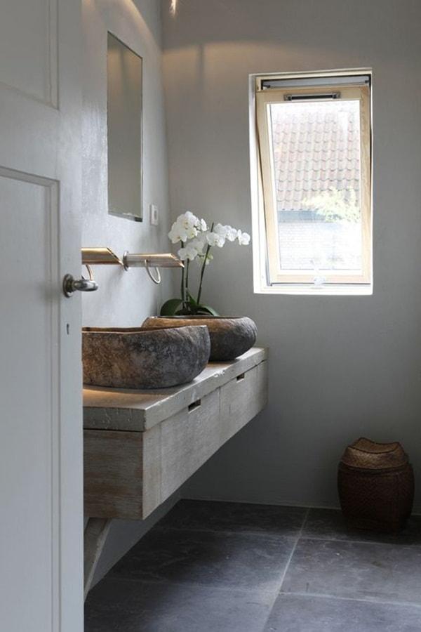 11 stone decoration ideas for bathroom (7)