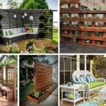 """13 ไอเดีย """"รั้วบังสายตา"""" สร้างความเป็นส่วนตัว ให้กับพื้นที่สวนหลังบ้านของเรา"""