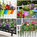 15 ไอเดียกระถางดอกไม้ริมรั้ว สวยงาม หลากสีสัน ร่มรื่น และสดชื่นรับการพักผ่อน