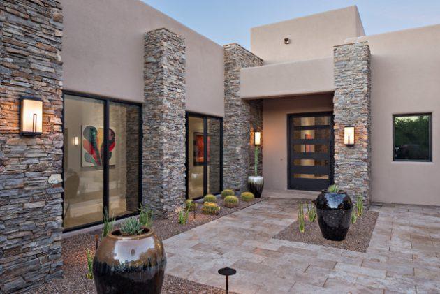 15-irresistible-contemporary-entrance-designs (10)