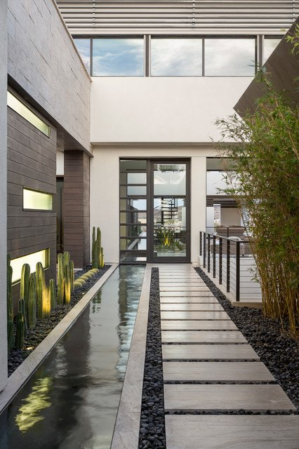 15-irresistible-contemporary-entrance-designs (3)