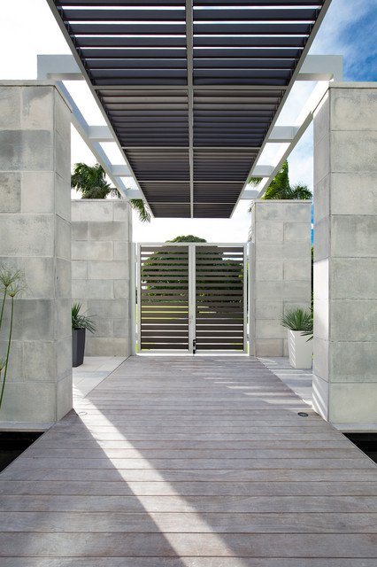 15-irresistible-contemporary-entrance-designs (7)