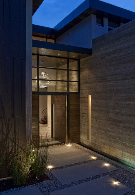 15-irresistible-contemporary-entrance-designs (8)