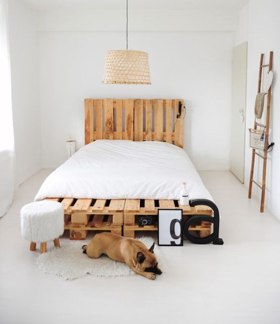 15-simple-diy-bed-frames-with-pallet-boards (10)