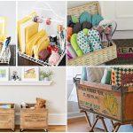 19 ไอเดียสร้างพื้นที่จัดเก็บ และ DIY ของใช้ของโชว์ จัดเก็บของจุกจิกในบ้าน ให้เป็น  ระเบียบ สวยงาม และงบที่ประหยัด