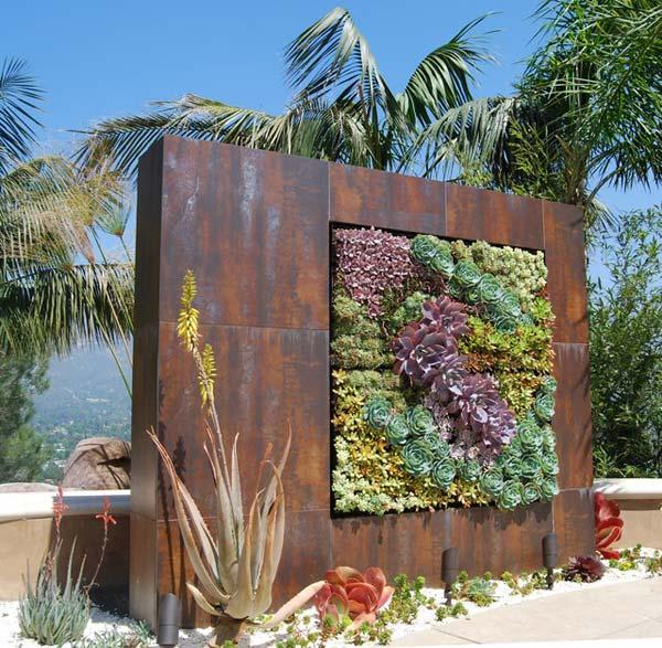 19-diy-rusted-metal-beautify-yard (14)
