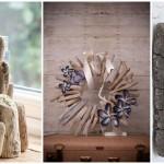 19 ไอเดียตกแต่งบ้าน ด้วยงานคราฟท์ ประยุกต์เศษไม้จากทะเล DIY เป็นของโชว์และของขาย ในสไตล์ฮิป