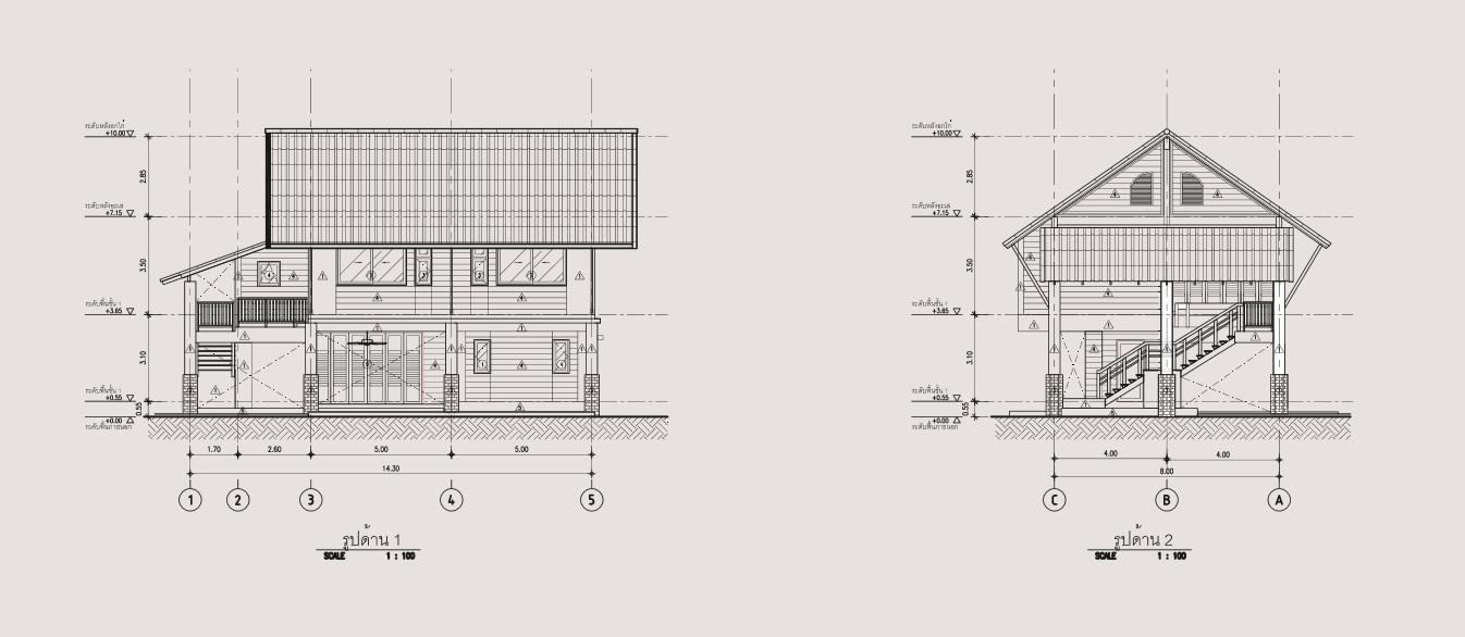 2 storey 3 bedroom thai contemporary house (4)