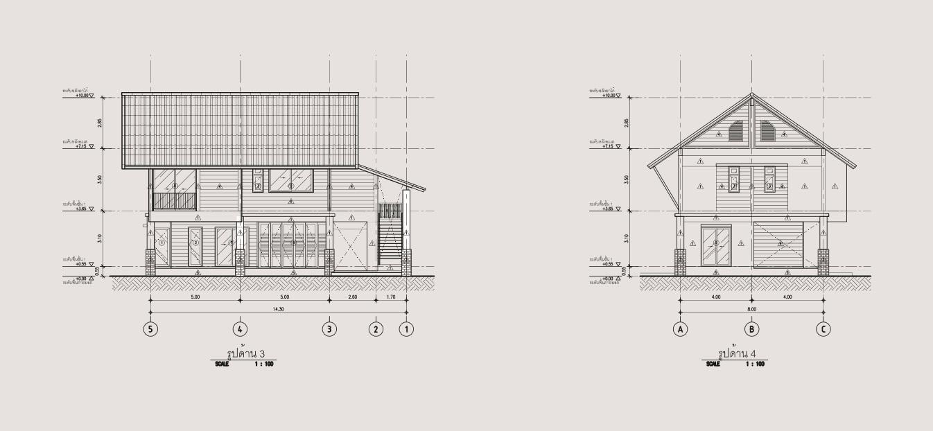 2 storey 3 bedroom thai contemporary house (5)