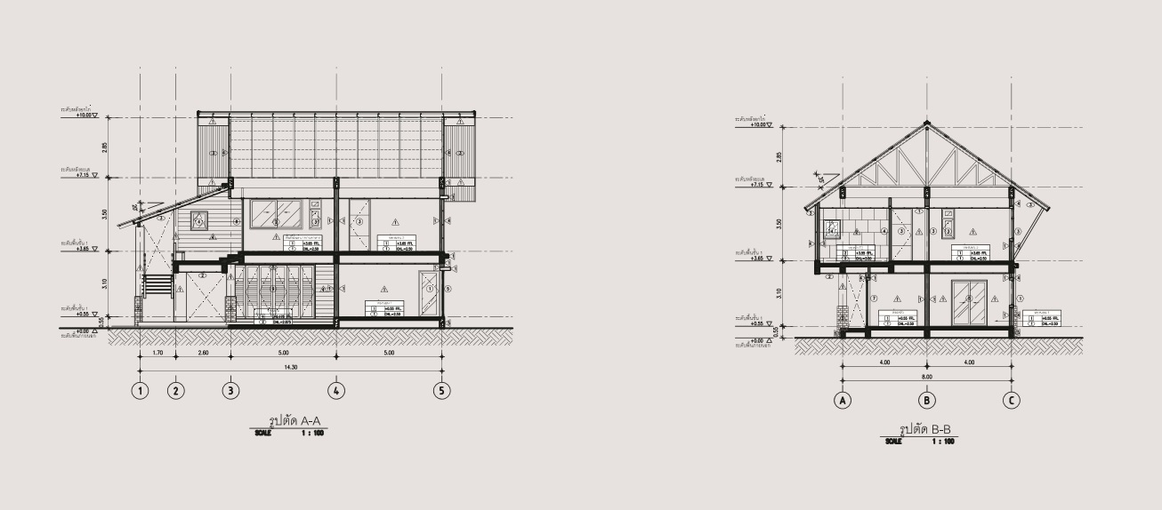 2 storey 3 bedroom thai contemporary house (6)