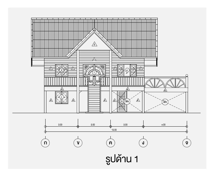 2 storey thai wooden country house (4)